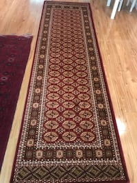 new Traditi Bokhara  Design Hallway Runner Carpet Size 3x10 Red Rug