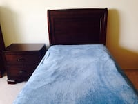 Single bed with night table  London, N6H 4T6