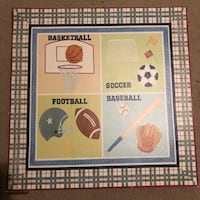 Sports painting for kids room Mount Airy, 21771