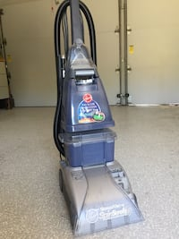 gray and blue Hoover upright vacuum cleaner Rancho Palos Verdes, 90275