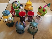 disney character cups and tumblers San Pablo, 94806