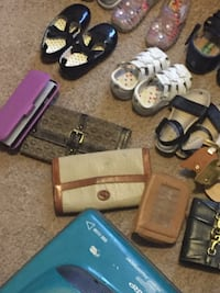 assorted pouch and shoes lot Vicksburg, 39180