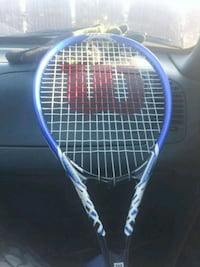 blue and white Wilson tennis racket Indianapolis, 46227