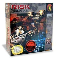 Risk 2210 A.D. board game - Like New, (PLUS MANY MORE) WOODBRIDGE