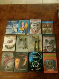 assorted DVD movie case lot Cape Coral, 33914
