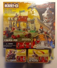 Kre-O Dungeons Dragons Battle Outpost Fortress Tower 514 Pieces London