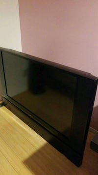black and gray flat screen TV Edmonton, T6L 1V8