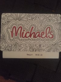 Michaels gift card!