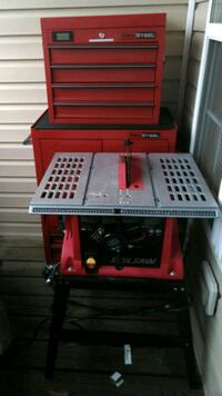 Table saw and Tool Box $75 each  Stafford, 22554