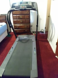 gray and black treadmill Great Xmas gift