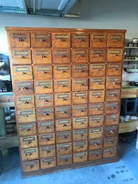 Vintage card catalog  dimensions are in pictures. This is a very nice and rare piece   League City, 77573