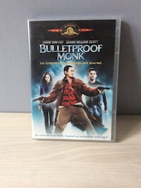 Bulletproof Monk DVD case Lyon, 69009
