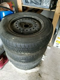 4 All Season Tires P185 - $80 - Negotiable Brossard, J4Y 1A7