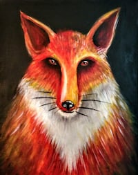 Painting-Fox Vancouver