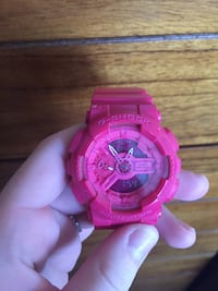 round pink Casio G-Shock digital watch Albuquerque, 87111