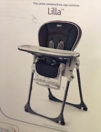 NIB chicco highchair