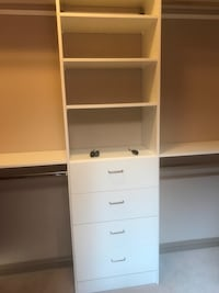 white wooden cabinet with shelf Calgary, T3M 1J2