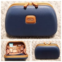 NWT Brics blue toiletry travel bag Paid $58 Brand-new never used! Excellent condition measurements 4.5x2.5 inches.