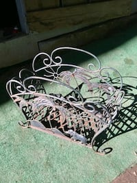 Cast Iron Magazine Rack