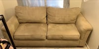 Suede 2-seat sofa 34 km