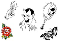Halloween Tattoo Flash Special New York
