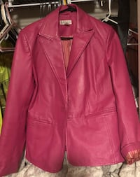 Hot Pink Leather Jacket from Worthington  771 mi