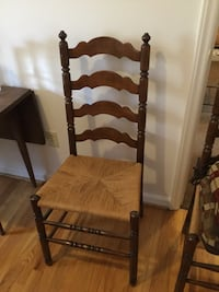 SET OF FOUR RUSH SEAT LADDER CHAIRS Hagerstown, 21740