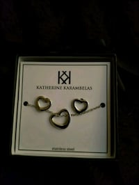 KATHERINE KARAMBELAS Necklace and Earrings Set