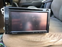 black 2-DIN car stereo head unit Gaithersburg, 20877