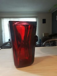 red glass container Calgary, T2P 0V5