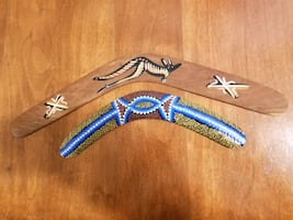 Two boomerangs both for $7