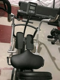 black and gray exercise equipment Washington