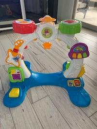 Baby and toddler drum and play