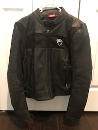 Ducati Black leather zip-up jacket for girl  Cutler Bay, 33157