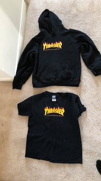 Kids large thrasher shirt and hoodie Winnipeg, R2V 0S2