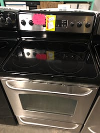 GE stainless steal electric stove