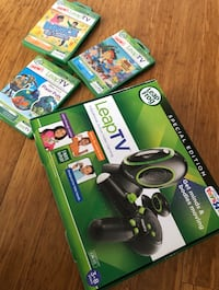 Leap Frog Console with 3 games!