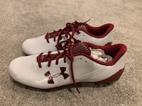 White/red Under Armour cleats size 11 Halethorpe, 21227