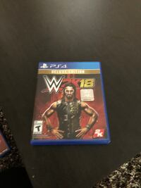 Wwe 2k18 deluxe edition ps4 excellent condition  Cambridge, N1R