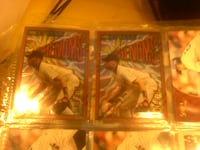 two MLB trading cards Mansfield