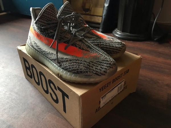 b425ea2602a Used Adidas yeezy boost 350 v2 (read description) for sale in Union ...