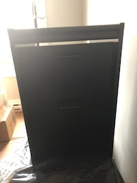 Black side table / night stand
