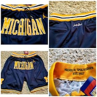 Michigan Wolverines shorts Mississauga, L5N