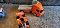Little tikes truck and car