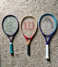 Tennis rackets $5 each or $10 for all 3 Mason, 45040