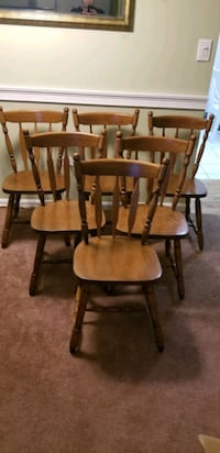Solid Wood Dining Room Chairs Lorton