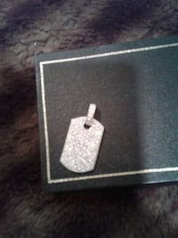 silver-colored dog tag with box East Northport, 11731