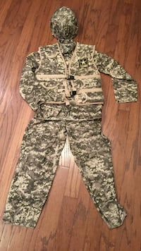 Army Ranger Costume - Sz. L (Youth) Yorkville, 60560
