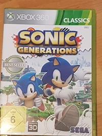 Sonic Generations Xbox 360 Fall Worms, 67549