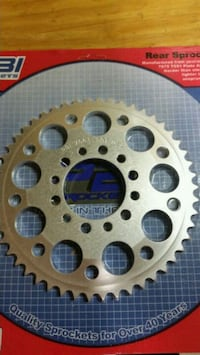 Pbi rear aluminum rear sprocket 50t
